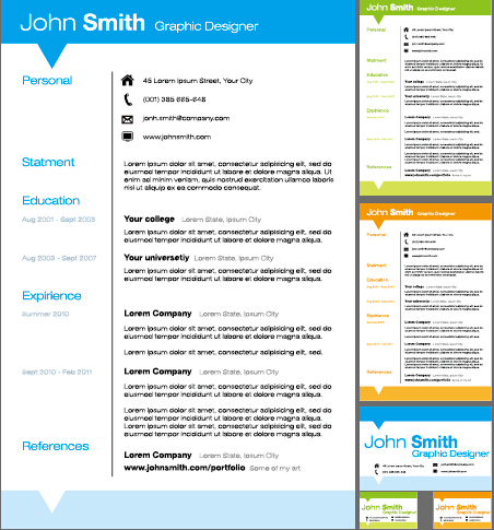 free design resume templates modern resume template for word 1 2