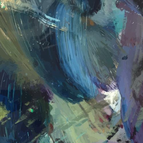 Palette oil painted vector backgrounds 03 Palette oil painted vector backgrounds 03