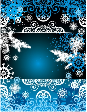 snow frame christmas