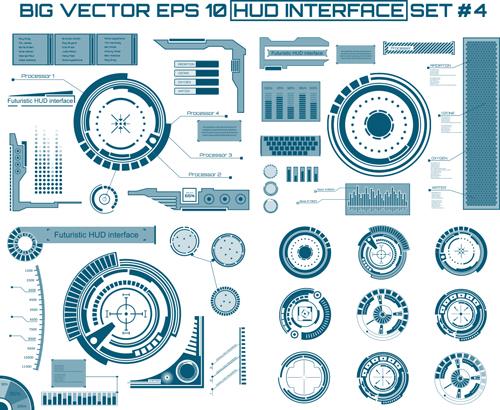 interface hud futuristic