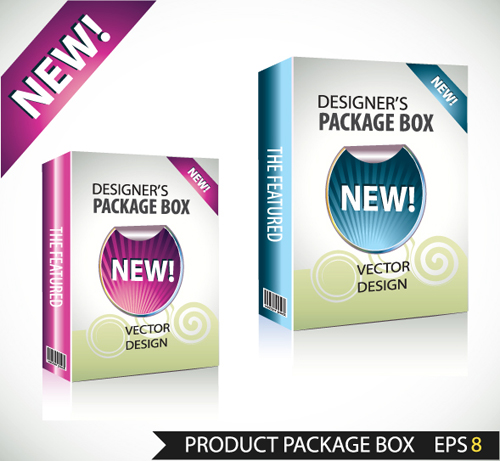 product packaging new boxes