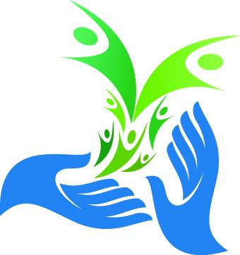 vector logo hands hand design