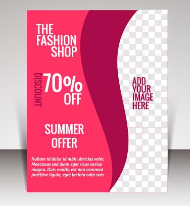 business brochure vector cover design 04 welovesolo