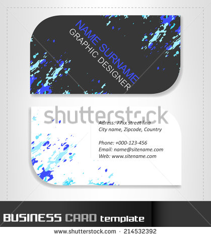 Rounded business cards template vector material 07 welovesolo rounded business cards template vector material 07 fbccfo