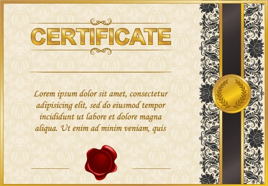 free certificate design