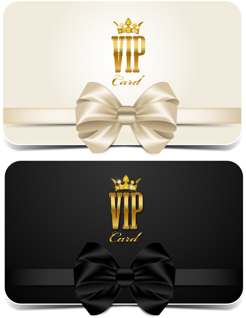 Beautiful bow with vip invitation card vector 01 welovesolo beautiful bow with vip invitation card vector 01 stopboris Image collections