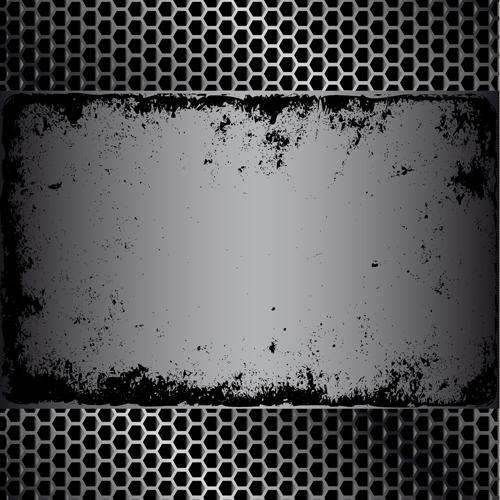 metal mesh metal background