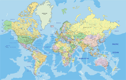 Detailed world map vector graphics 02 welovesolo detailed world map vector graphics 02 gumiabroncs Image collections