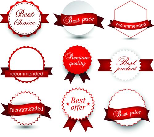 ribbon labels commodity