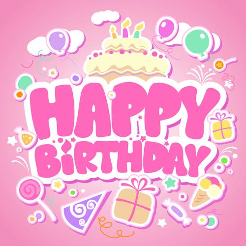 happy birthday happy elements element creative birthday