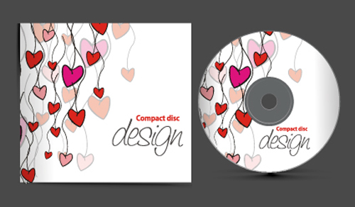 set of creative cd cover design vector graphics 02 - welovesolo, Powerpoint templates