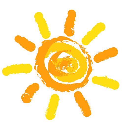 Elements of Summer Sun vector art 06 - WeLoveSoLo