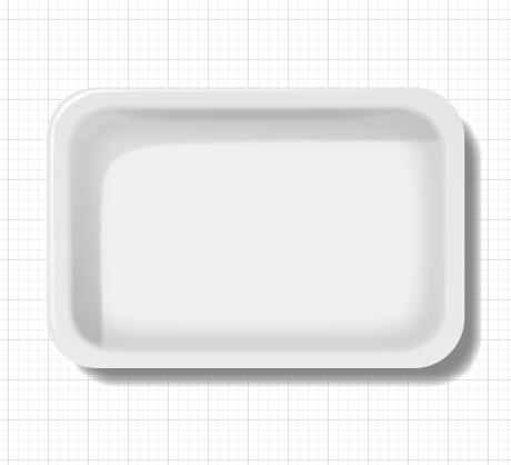 tray template material