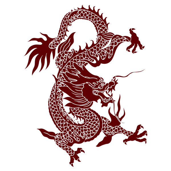 chinese dragon creative vector material welovesolo rh welovesolo com chinese dragon vector art chinese dragon vector free
