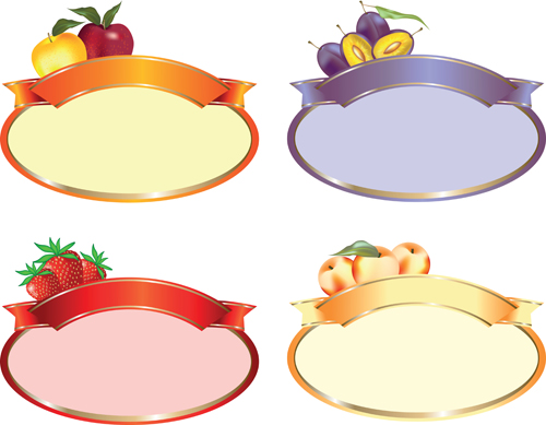 Set of products Labels templates vector 05 WeLoveSoLo