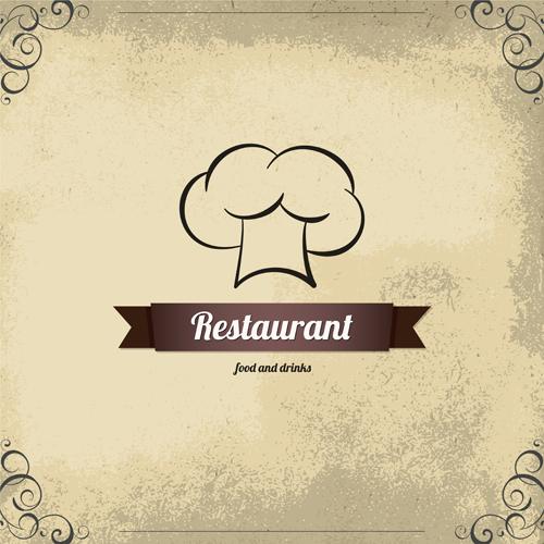 Modern restaurant menu design graphic set welovesolo