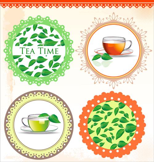time tea elements element Design Elements