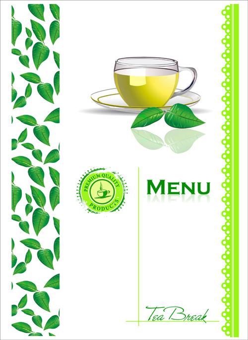 time tea element Design Elements