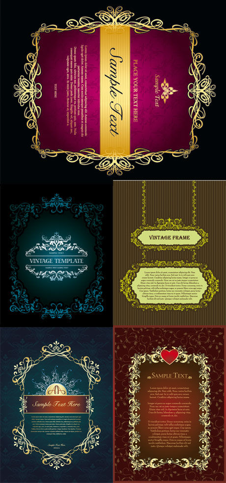 frame decorative classical