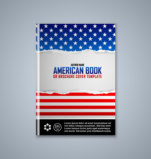 Creative Book Covers Download ~ Set of book cover creative vector welovesolo