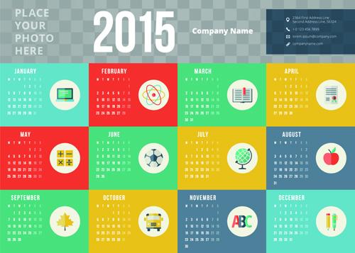 Business Calendar Design : Business calendar creative design vector welovesolo