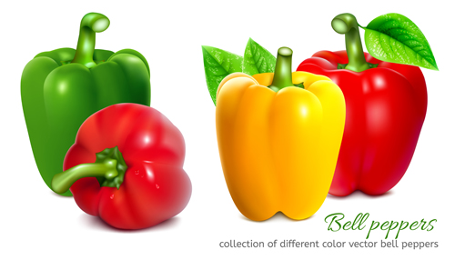 peppers colored bell