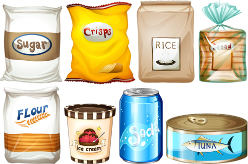 packing food elements