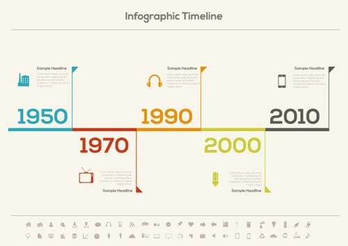 Infographic Timeline Vector Template WeLoveSoLo - Free timeline infographic template