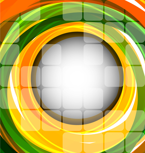 circle background abstract