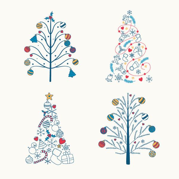 christmas tree cute design
