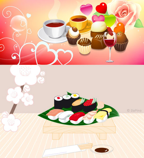 wine cup West Point sushi rose japan heart shaped goblet cups of coffee chopsticks Cherry Blossoms cakes