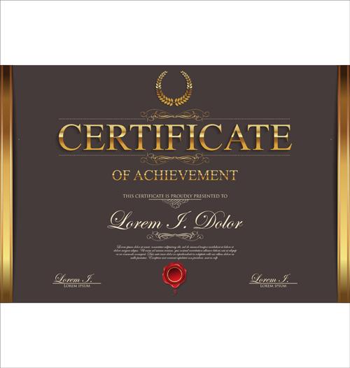 Modern certificate creative template vector 04 welovesolo modern certificate creative template vector 04 yadclub Gallery