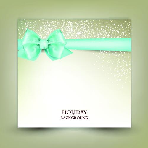 ribbon ornate christmas cards