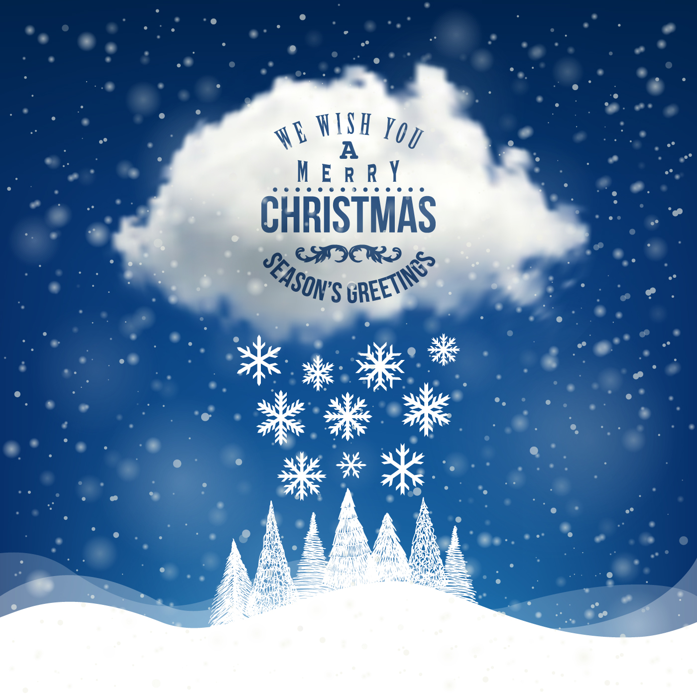 winter holiday cards vector set 03 welovesolo