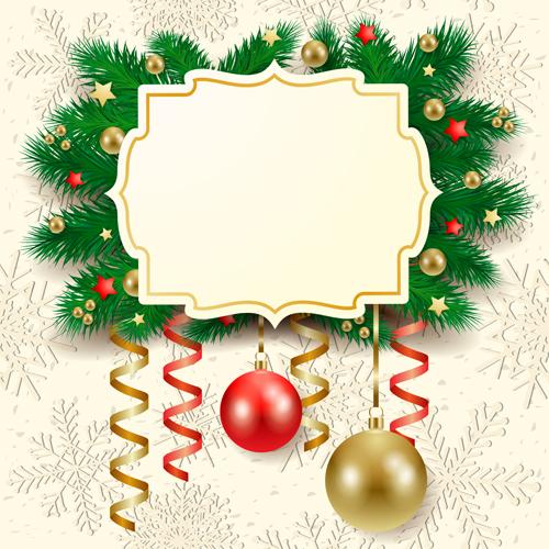 Christmas frame vector free download - volchok-film.ru