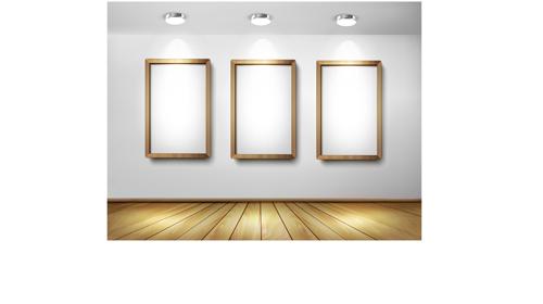 Gallery and frame creative desgin vector 04 - WeLoveSoLo
