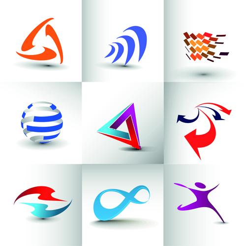 Modern Business Logos Design Art Vector 08 Welovesolo