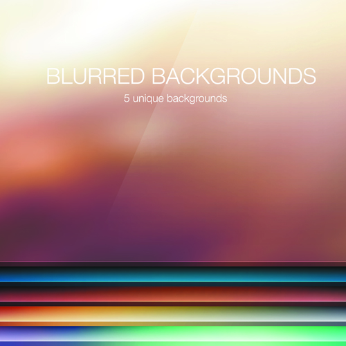 vector background colored blurred background