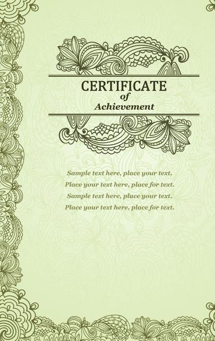 Vector templates of certificates design set 09 welovesolo vector templates of certificates design set 09 yelopaper Gallery