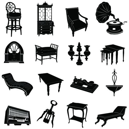 vintage furniture different