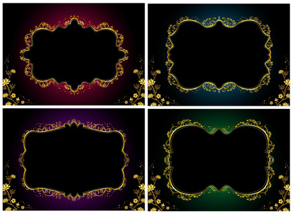 ornate lace gold
