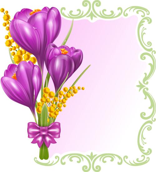 purple card vector card beautiful