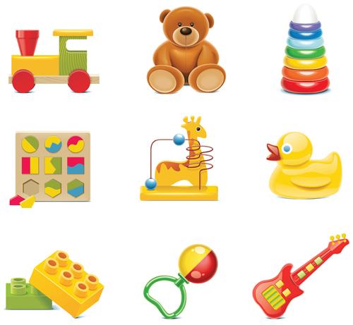 toys shiny illustration children