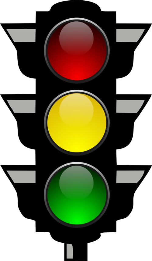 traffic light 05 Various Traffic light design vector 05