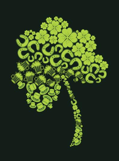tree medium green funny