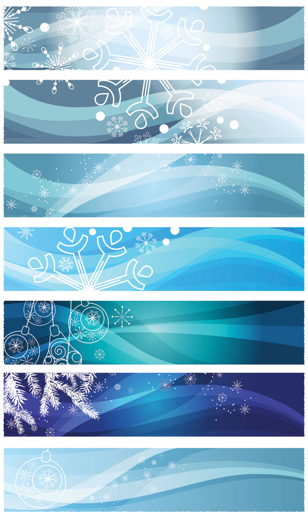 snow shading line dynamic flow line color christmas tree banners background