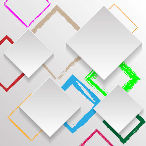 vector material square background vector abstract background abstract