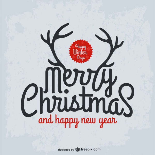 Christmas Calligraphy.Christmas And New Year Calligraphy Background Vector