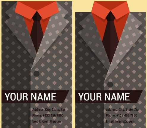 suit creative business cards business