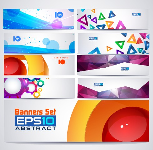web vector graphics vector graphic colored banner abstract